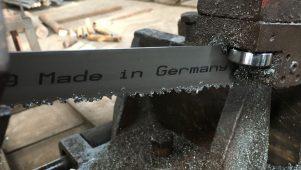 Bi Metal Alman Şerit Testere